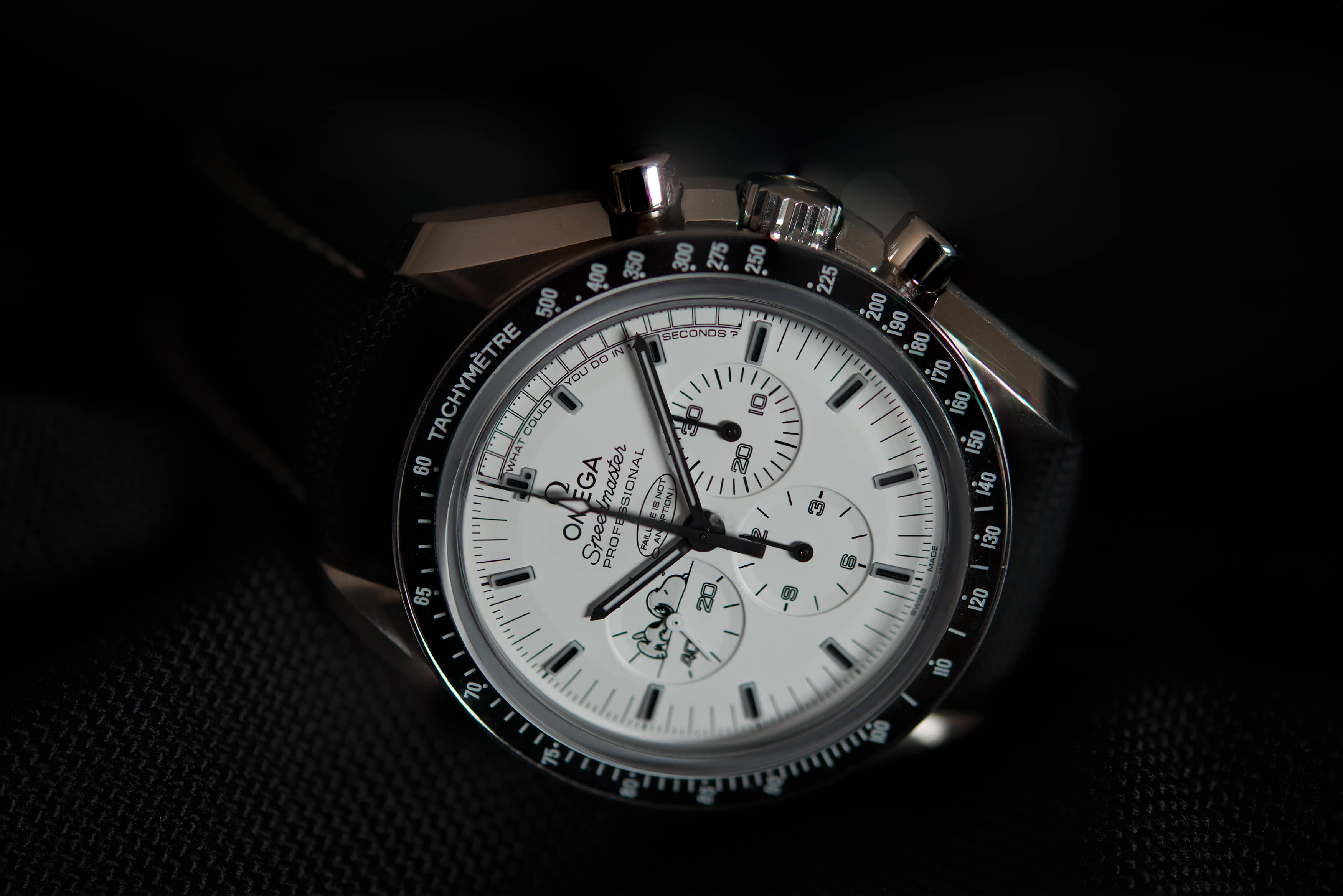 Omega Speedmaster Silver Snoopy Awards