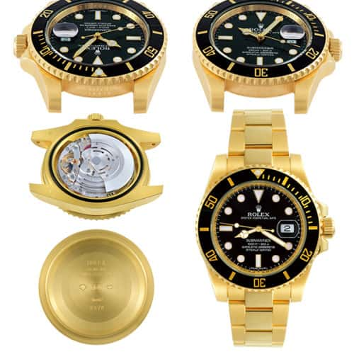 Rolex gold platinum collecting mondani