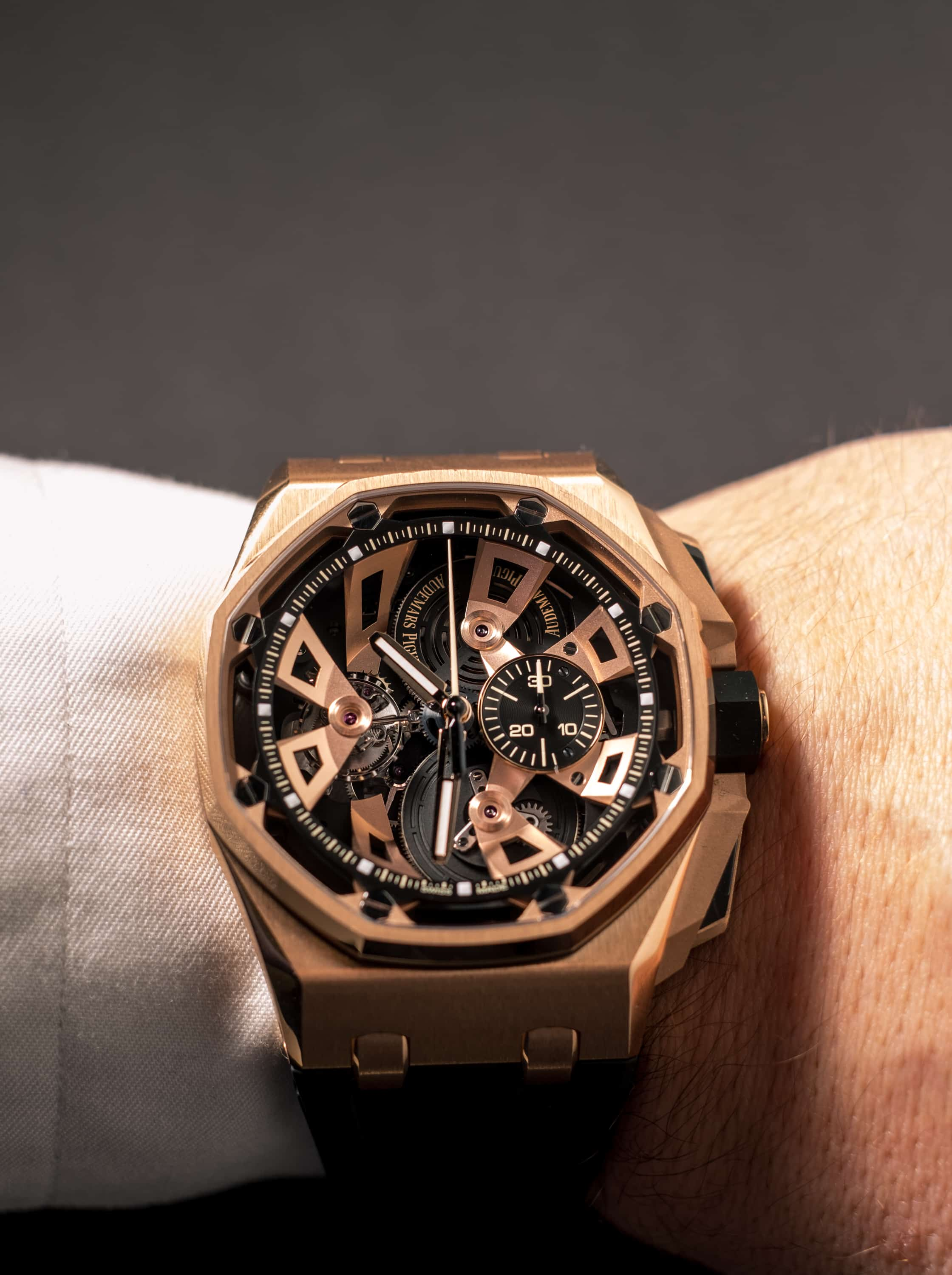 Audemars Piguet SIHH 2018 Royal Oak Offshore Tourbillon Chronograph